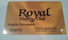 Four Queens Hotel Casino Las Vegas, Nevada Royal Players Club Slot Card!