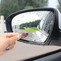 2pcs Car Rearview Mirror Waterproof Anti-fog Anti-glare Film Sticker Accessories