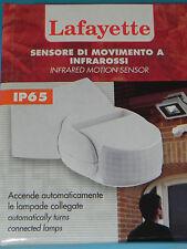 Sensore di movimento ad infrarossi per lampade LAFAYETTE SE-4 IP65