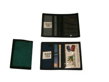 ID Credit card holder,wallet holds business cards and ID, Made in U.S.A