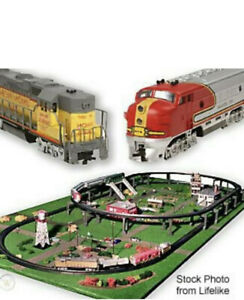 HUGE LIFE LIKE HO SCALE TRAIN SET - 8636 CITY EXPRESS BRAND NEW!