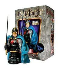 Bowen Designs BLACK KNIGHT blue cape mini bust/statue-Marvel-Randy-NIB