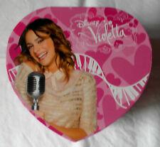 Disney Violetta Musical Alhajero En Forma De Corazón