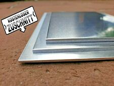 Alublech Edelstahlblech Stahlblech 1-5mm ✔️ Zuschnitt Blechstreifen Platte VA ✔️