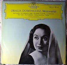 Oralia Dominguez Mezzosopran DGG Tulips LP NM Mono Vinyl Opera NICE PLAYS GREAT