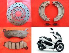 Honda PCX 125 Brake Disc + Pads + Shoes Set 2009 2010 2011 2012 2013 2014 2015