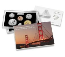 2018-S San Francisco Mint Silver Reverse Proof Set (18XC)