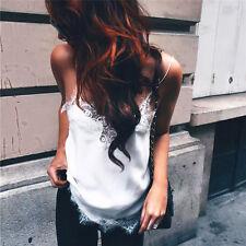 Women Sexy Summer Vest Top Sleeveless Casual Shirt Tops Blouse Tank T-shirt