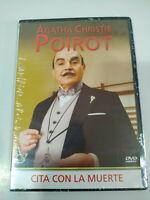 Agatha Christie Poirot Cita con la Muerte - DVD Nuevo - 2T
