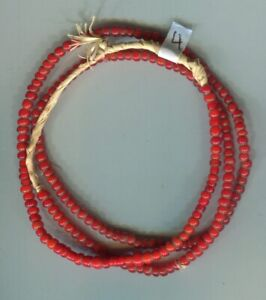 10 Zen Venetian Trade Beads Black and White Loose Africa 108335