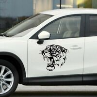 Tiger Car Decal Vinyl Sticker For Wall Window Bumper Panel Black  Latest LrJNE