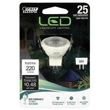 Feit 25W Equivalent Warm White (3000K) MR11 GU4 Bi-Pin LED 12-Volt Landscape