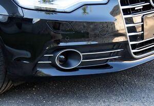 2X Nebelscheinwerfer Gitter für AUDI A6 C7 ab Bj 2013 A