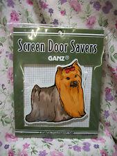 NEW GANZ DOG YORKSHIRE TERRIER YORKIE SCREEN DOOR SAVER