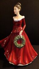 Royal Doulton Mistletoe And Wine figurine HN5701 2014 Songs of Christmas Signed