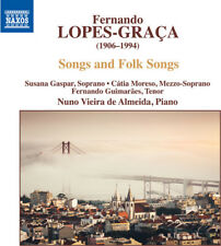 Songs & Folk Songs - Graca / Gaspar / Almeida (CD New)
