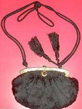 Revivals Black evening bag Vintage