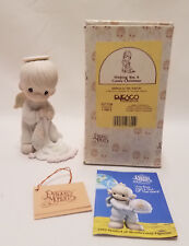 1992 Nativity Precious Moments Wishing you a Comfy Christmas ~ Signed by Sam