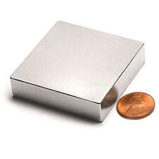 Cms Magnetics N42 Neodymium Magnet 2x2x12 Ndfeb Rare Earth Magnets 1 Pc