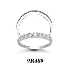 Engagement Eternity White Gold I2 Fine Diamond Rings