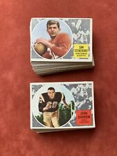 1960 Topps CFL Football Card Complete Set of 88 - VG-EX/EX