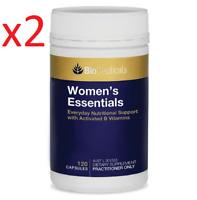2x BioCeuticals Women's Essentials 120 Capsules Women Multivitamin FREE DELIVERY