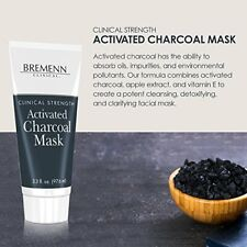 BREMENN CLINICAL Activated Charcoal Mask Cleansing Detoxifying Clarifying Facial