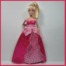 BARBIE Fashion GOWN Pink PRINCESS Gown & Matching Heels