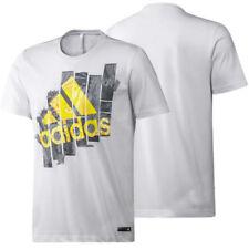 Camisetas de hombre negras adidas talla XXL