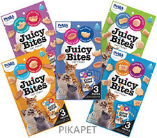 INABA Juicy Bites Moist Bite-Sized Cat Treats 5 Flavor Variety Pack AU STOCK