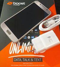 HUGE SALE! MINT Samsung Galaxy S6 G920P Boost Mobile 32GB Gold Smartphone w/sim