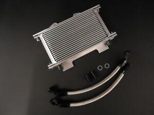 Suzuki GSF1200 Oil Cooler Kit Braided Hoses & Mounting Bracket / BLK 1200 Bandit