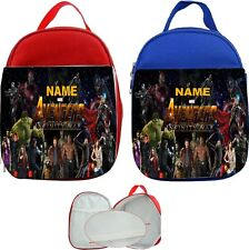 Avengers Infinity War #1 Personalised Childs Lunch Bag