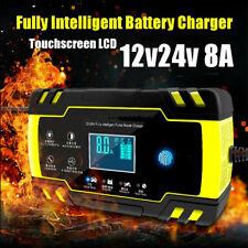 Automatic Intelligent Smart Car Battery Charger Pulse Repair Starter 12V 24V UK