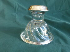 Sterling Silver and Glass Candle Holder Laben