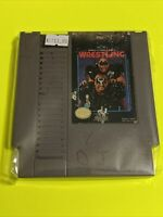 🔥100% WORKING NINTENDO NES Game Cartridge WCW WORLD CHAMPIONSHIP WRESTLING HAWK