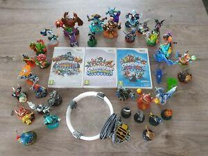 3 Jeux Skylanders  sur Wii + 37 figurines