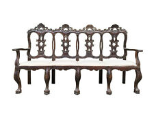 Magnificent and Rare 18th Century Spanish Colonial Settee