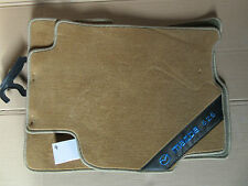 Mazda 626 (GF) Fußmatten,Velours,Tuftvelour,beige,vorne & hinten,Satz