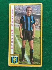 CALCIATORI 1969-70 69-1970 INTER Sandro MAZZOLA , Figurina Panini (NEW)
