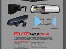 Vission RVM403DVR Oem Rear View Mirror Monitor and Front DVR Camera