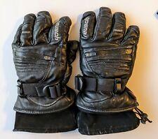 New listing Reusch Martock Leather Rtex Xt Ski Gloves Adult Size M   High End Gloves! Sub 0