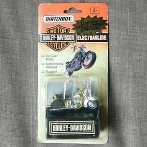 Vintage Matchbox Harley Davidson Motorcycle