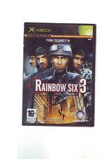 TOM CLANCY'S RAINBOW SIX 3 - XBOX GAME / 360 COMPATIBLE - ORIGINAL & COMPLETE