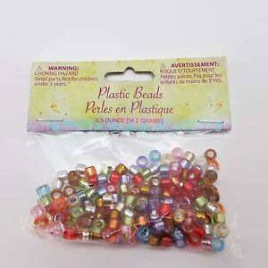 Lot of 24 Studio18 Multi-Color Plastic Bead Packages