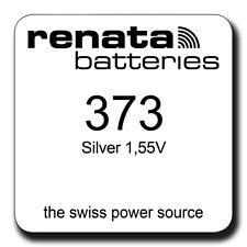 RENATA 373 SR916SW 1.55V WATCH BATTERY/CELL+ UK FREEPOST