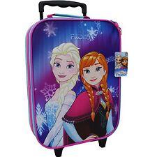 Eiskönigin Koffer Trolley Kinderkoffer Handgepäck Disney Frozen Anna Elsa 8103