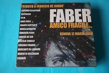 AMICO FRAGILE TRIBUTO A FABRIZIO DE ANDRE'  CELENTANO.... CD DOPPIO SIGILLATO
