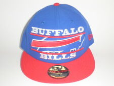 Era 59fifty Buffalo Bills Logo Zoom Hat Blue Red 7 ( ) Fitted Cap 5950 WOW 54961d0ff