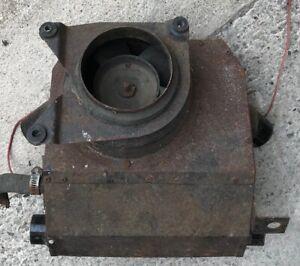 Triumph TR6 heater assembly, two speed motor original item as photos